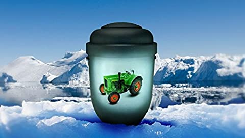 Biodegradable Cremation Ashes Urn - Adult Size - FARM TRACTOR