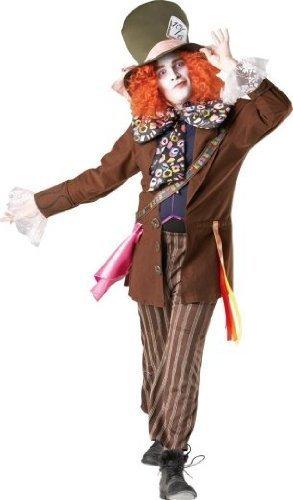 Kostüm verrückter Hutmacher aus Alice im Wunderland Größe ()