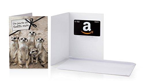 Buono Regalo Amazon.it - €150 (Biglietto d'auguri Da parte di tutti noi)