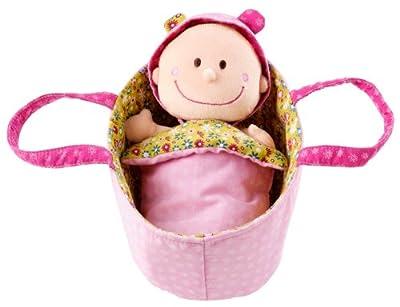 Lilliputiens 86063 Baby Chloe - Muñeca en cestita por Lilliputiens