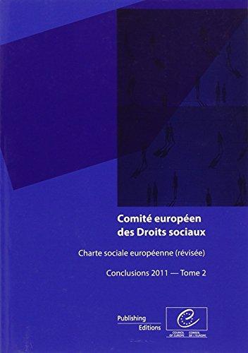 Comité européen des Droits sociaux - Charte sociale européenne (révisée) Conclusions 2011 : Tome 2