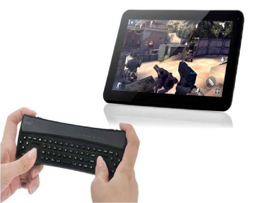 Techno S - Black IPEGA WIRELESS BLUETOOTH 3.0 KEYBOARD GAME CONTROLLER GAMEPAD KEYPAD JOYSTICK 2 IN 1 FOR SMARTPHONE / TABLET PC iOS and ANDROID: iPHONE, iPAD, iPOD, Kindle fire HD, Acer, AUSU, Samsung, Nexus 7, Nook Color, etc by Technos (Kindle Videospiele)