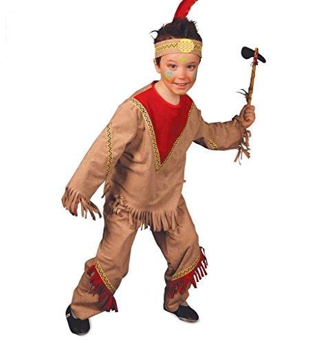 Indianer Gras Mardi Kostüme (Indianerkostüm für Jungs,