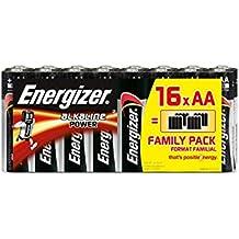 Piles AA Energizer Alkaline Power, Pack de 16