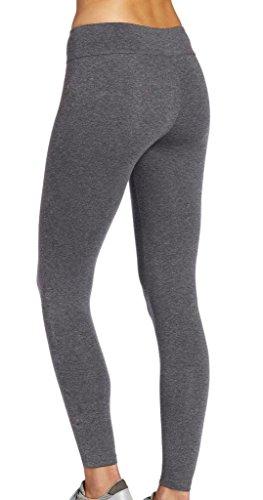 iLoveSIA® Femme Leggings de sport pantalons Gris legging longue