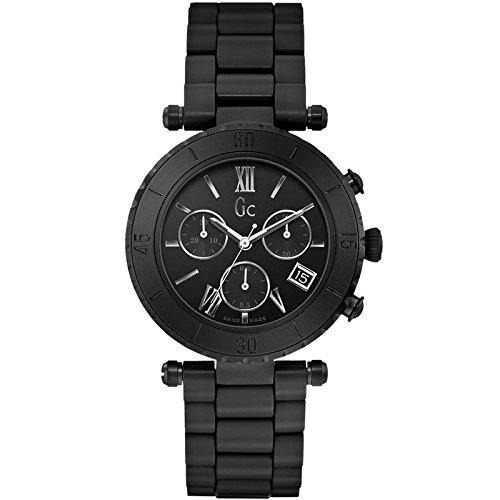 Guess Reloj Cronógrafo para Hombre de Cuarzo con Correa en Acero Inoxidable X43002M2S