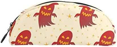 Bonipe Halloween Funny Ghost Motif Motif Motif Trousse Stylo Sac étui support Porte-monnaie Maquillage pour Trave Bureau | Moins Cher  f6a7dd
