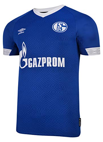 Umbro Kinder FC Schalke 04 Home SS Jersey blau YXL