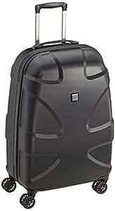 TITAN Roller Case X2 4 Wheel Trolley M+ 87 Liters Black (Black Shark) 82510
