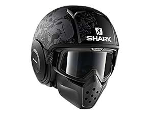 shark motorradhelm hark drak sanctus mat schwarz gr e xl auto. Black Bedroom Furniture Sets. Home Design Ideas