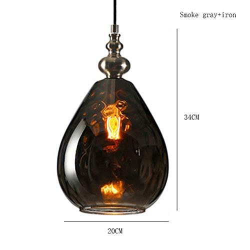Lichter Lampenschirme Hängelampe Für Esszimmer pendelleuchte Nordic Loft Led Pendelleuchte Kaffee Droplight Dinning