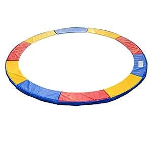 Homcom 13ft Trampoline Pads Safety Enclosure Pad Pads Pading - Multi-Coloured