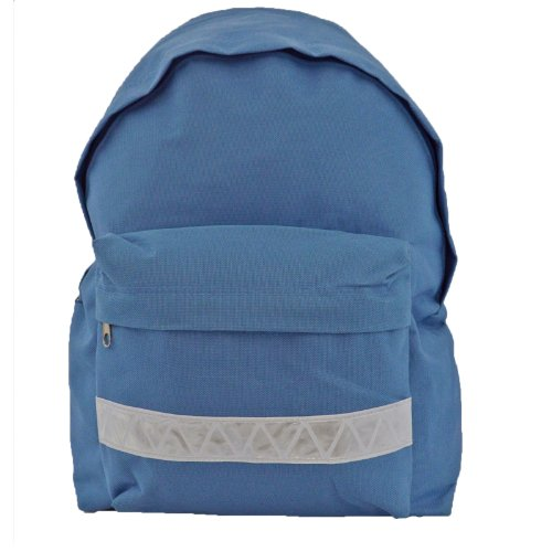 euro-childrens-rucksack-backpack-bag-in-9-colours-with-safety-strip-light-blue