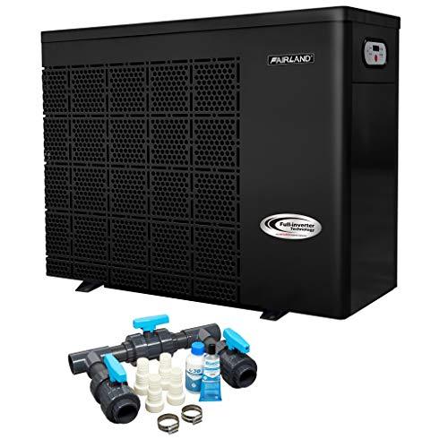 Well2wellness Pompa di Calore Pompa di Calore Full-Inverter Plus Iphc25 By Fiera - Riscaldamento Piscina con una Heizkapazität fino 10 Kw + Bypass Set Basic