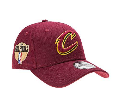 A NEW ERA New Era–Cleveland Cavaliers–Casquette Strapback–NBA Finals 2018–Rouge–Basketball