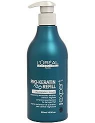 L'Oréal Professionnel - Shampooing Restaurateur à la Kératine pour Cheveux Fragilisés - 500ml