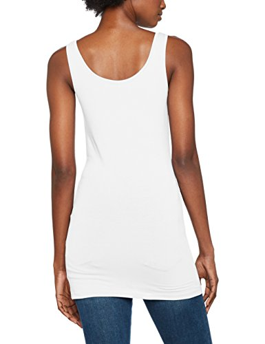 ONLY Damen Onllive Love New Long Tank Top Noos Weiß (White)