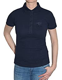 "'Lonsdale ""stalb Ridge Girl Polo (Dark Navy)"