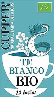 Cupper Tè Bianco Biologico (confezione da 20 Bustine)