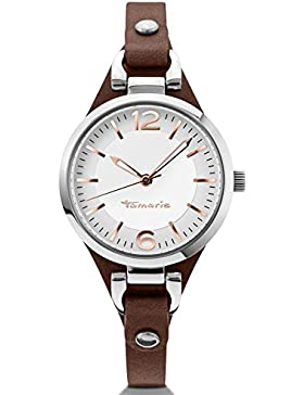 Tamaris Damen-Armbanduhr Virginia Analog Quarz Leder B02012010