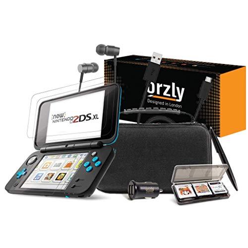 ORZLY® 2DSXL Zubehör, Ultimate Starter Pack für New Nintendo 2DS XL