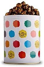 The Crunch Box Dark Chocolate Overload Popcorn Tin - 410 Gms