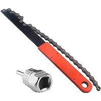 Tagvo Juego de herramientas de cadena de bicicleta, herramienta de extracción de casete de bicicleta