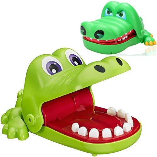 dil Zahnarzt Kinderspiel Mund Biss Finger Spielzeug Schnap-Spiel Krokodil Spielzeug für Kinder Geschenk ()