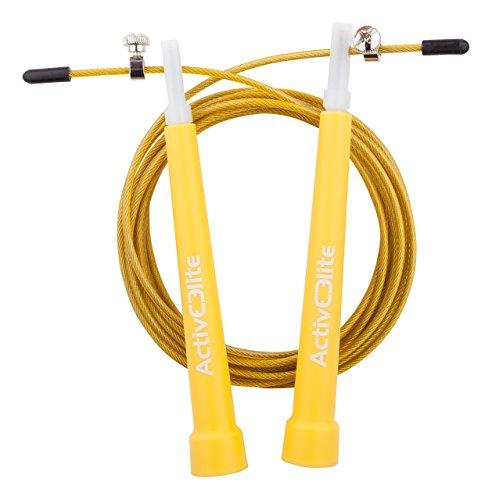Image of ActiveElite - Profi Springseil für Sport & Fitness für Boxen, Crossfit, MMA, WOD - BONUS Transporttasche