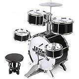 1b7c9689fe2aa LINGLING-Tambor Batería Percusión para niños Juguete de regalo Niño  Infancia Jazz Batería ...
