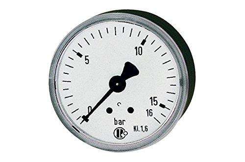 Format 4047322034098–Manometer D 50mm 0–10bar G1/4rue zent.