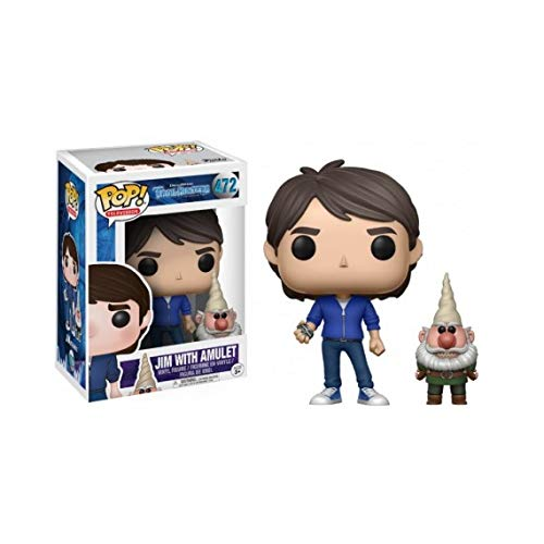 FunKo POP 14397 trollhunters – Figura Jim with Amulet Exclusive, 9 cm