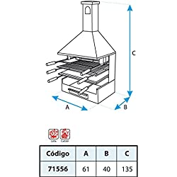 El zorro M263846 - Cajon chimenea parrilla y plancha 71556