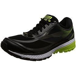 Brooks Ghost 10 GTX, Zapatillas de Running para Hombre, Negro (Blackebonylimepopsicle 1d078), 44 EU