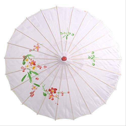 yingtengklk Papier Regenschirm dekorative Regenschirm für Hochzeit Frauen Sonnenschirm Dekoration Papier Regenschirm Haushalt regenbekleidung a1 -