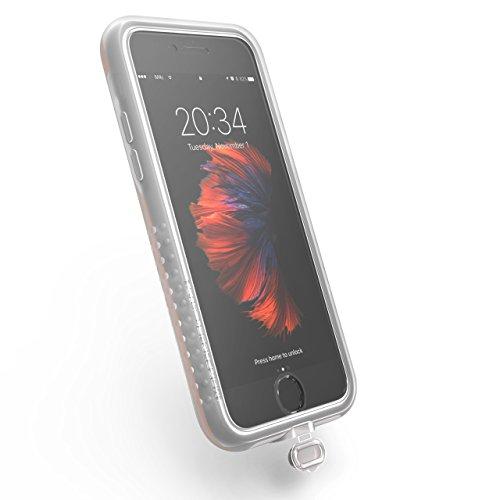 MORPHEUS LABS XtremeCover für M4s Case für Apple iPhone 8 / 7, Schutz vor Schmutz und Feuchtigkeit; Lightninganschluss und Kamera nutzbar, transparent, NICHT MIT ALLEN GLASFOLIEN NUTZBAR
