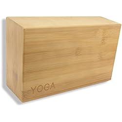 PhysCool Bambú natural (1 pieza, no tóxico, para entusiastas del yoga)