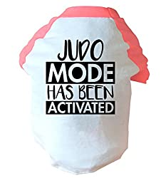 Judo mode activated two toned dog vest | pink or blue | Flox Creative
