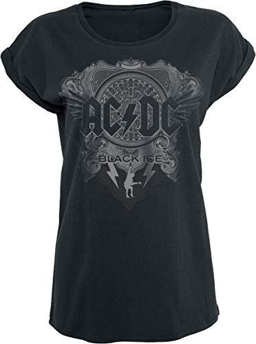 Musik Band T-shirt (AC/DC Black Ice T-Shirt schwarz XXL)