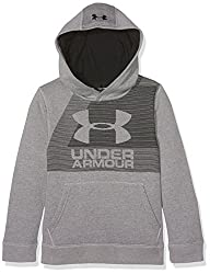 Under Armour Herren Rival Hoody Langarmshirt, Steel Light Heather, S