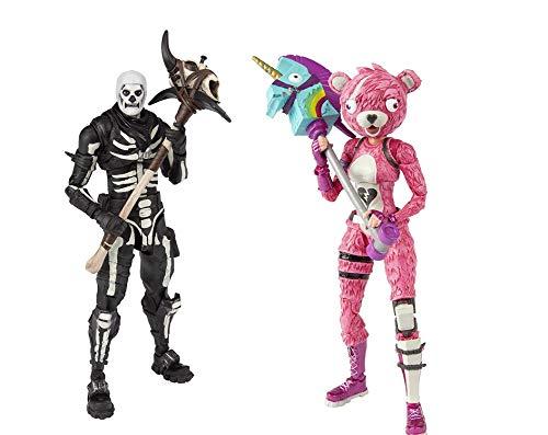 McFarlane Toys Fortnite Skull Trooper & Cuddle Team Leader Premium Action-Figur Set