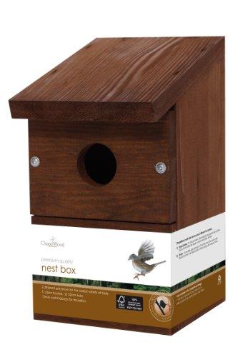 Chapelwood Nichoir pour oiseaux sauvages