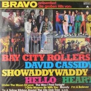 Various - Bravo präsentiert die großen Hits von: Bay City Rollers, David Cassedy, Showaddywaddy, Hello Heart - EMI Electrola - 1C 038-61452 (Bravo Roller)