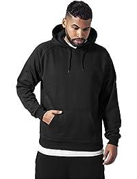 Urban Classics TB014 Sweatshirt, Hoodie Herren, Kapuzenpullover einfarbig (Pullover in vielen Farben erhältlich, ausgestattet mit Kapuze und Bauchtasche)