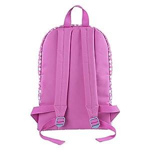 41z4 iG13RL. SS300  - Mochila Infantil Niña Disney Soy Luna - Bolso Escolar con Bolsillo Frontal Estampado Estrella Blancas - Bolsa para…