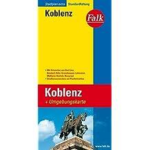 Falk Stadtplan Extra Standardfaltung Koblenz 1 : 20 000: Mit Ortsteilen von Bad Ems, Bendorf, H??hr-Grenzhausen, Lahnstein, M??lheim-K??rlich, Neuwied. Umgebungskarte. Strassenverzeichnis. Postleitzahlen by Unknown. (2014-10-06)
