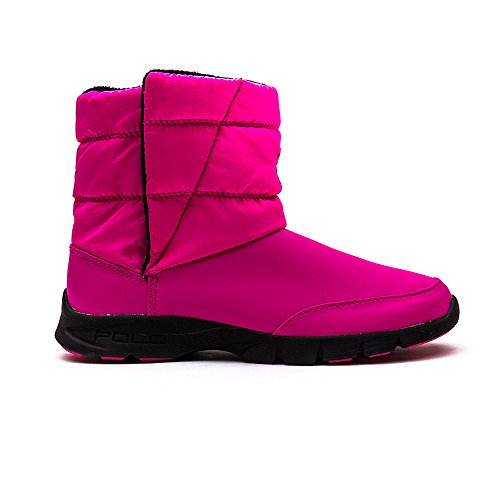 Polo Ralph Lauren Mädchen, Jungen Stiefel DRAEDEN Synthetik pink, EU 30 (Stiefel Kinder Polo)