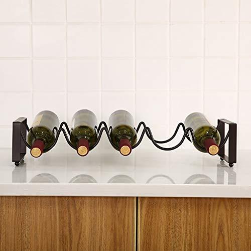 Eisen Weinregal Dekoration Europäischen Kreative Einfache Weinflaschenhalter Display Regal Home Bar...