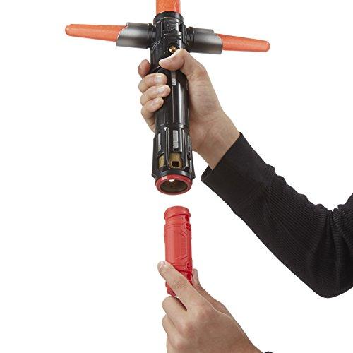 Imagen 4 de Star Wars - Sable electrónico Kylo Ren, Color Rojo (Hasbro B2948EU4)