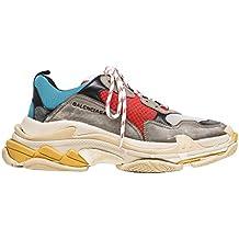 BestVIPP Balenciaga Triple S Sneakers Grey Red Blue Yellow Unisex Hombre Mujer Balenciaga Zapatillas